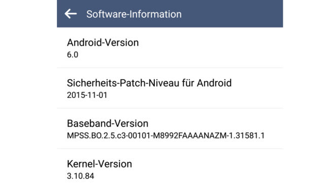 LG G4 Android 6.0