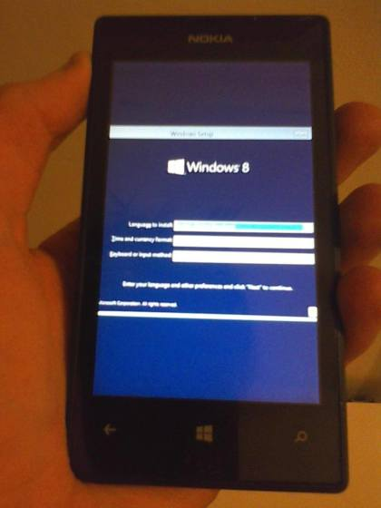Windows 8.1 RT auf dem Nokia Lumia 520
