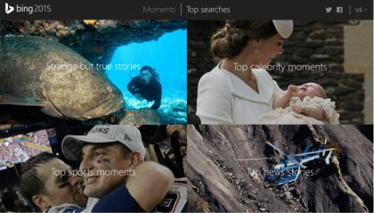 Bing Such-Hitliste 2015
