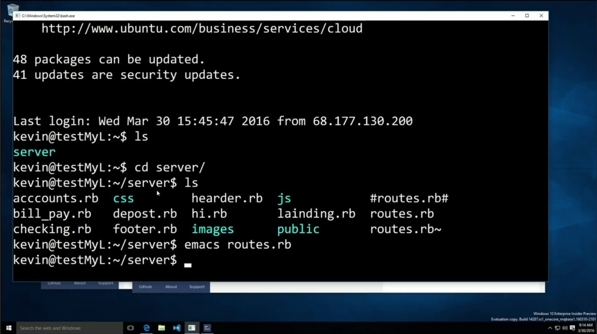 BUILD 2016: Linux-Shell Bash kommt bald nativ auf Windows 10