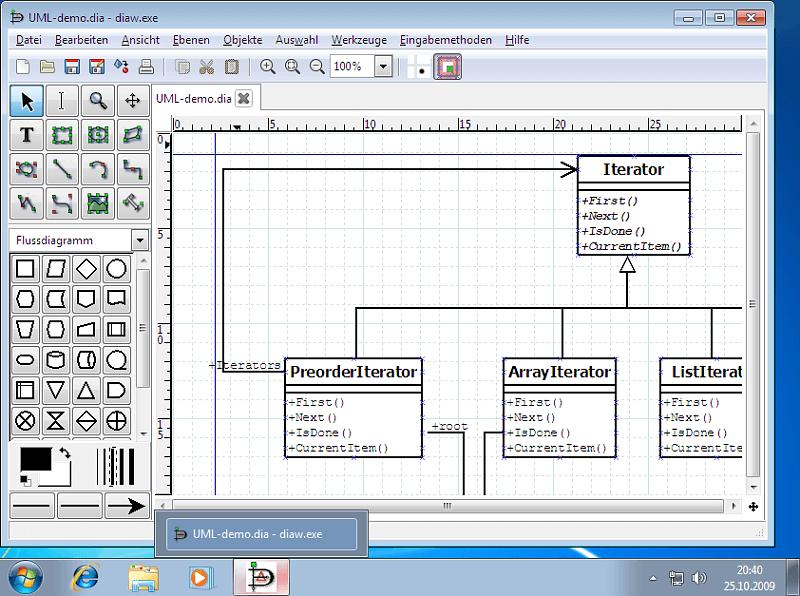 Dia - Zeichenprogramm für Diagramme Download