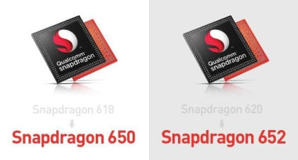 Qualcomm: Snapdragon 650 & Snapdragon 652