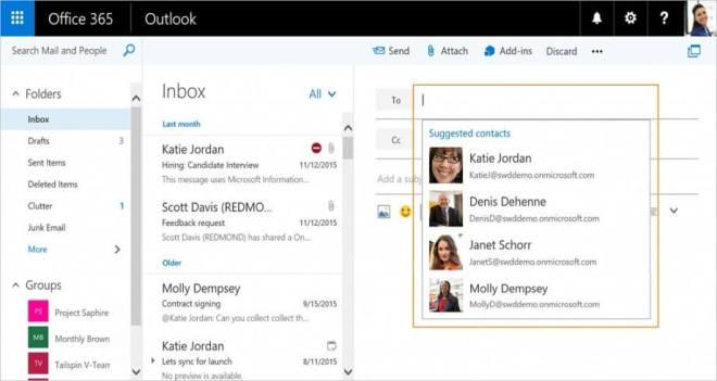 Outlook im Web