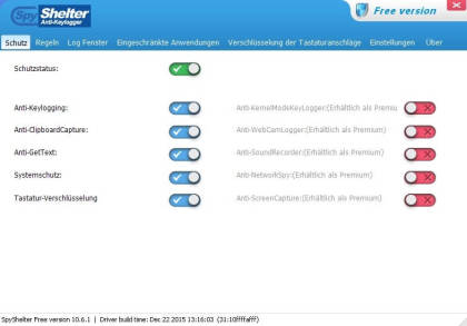 SpyShelter Free Anti-Keylogger