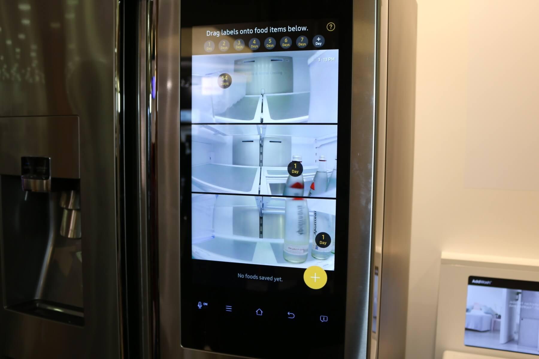 Side By Side Kühlschrank Mit Display : Ifa ein blick in samsungs smarten kühlschrank mit family hub
