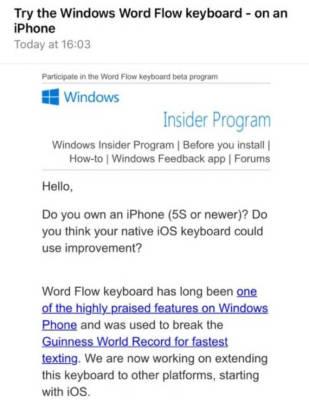 Word Flow iOS