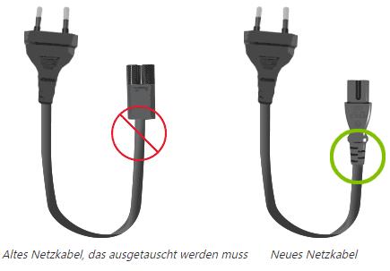 Microsoft Surface Netzkabel-Rückruf