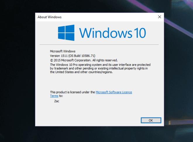 Build 10586.71