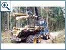 Holzmasten für Telekom-Glasfasern