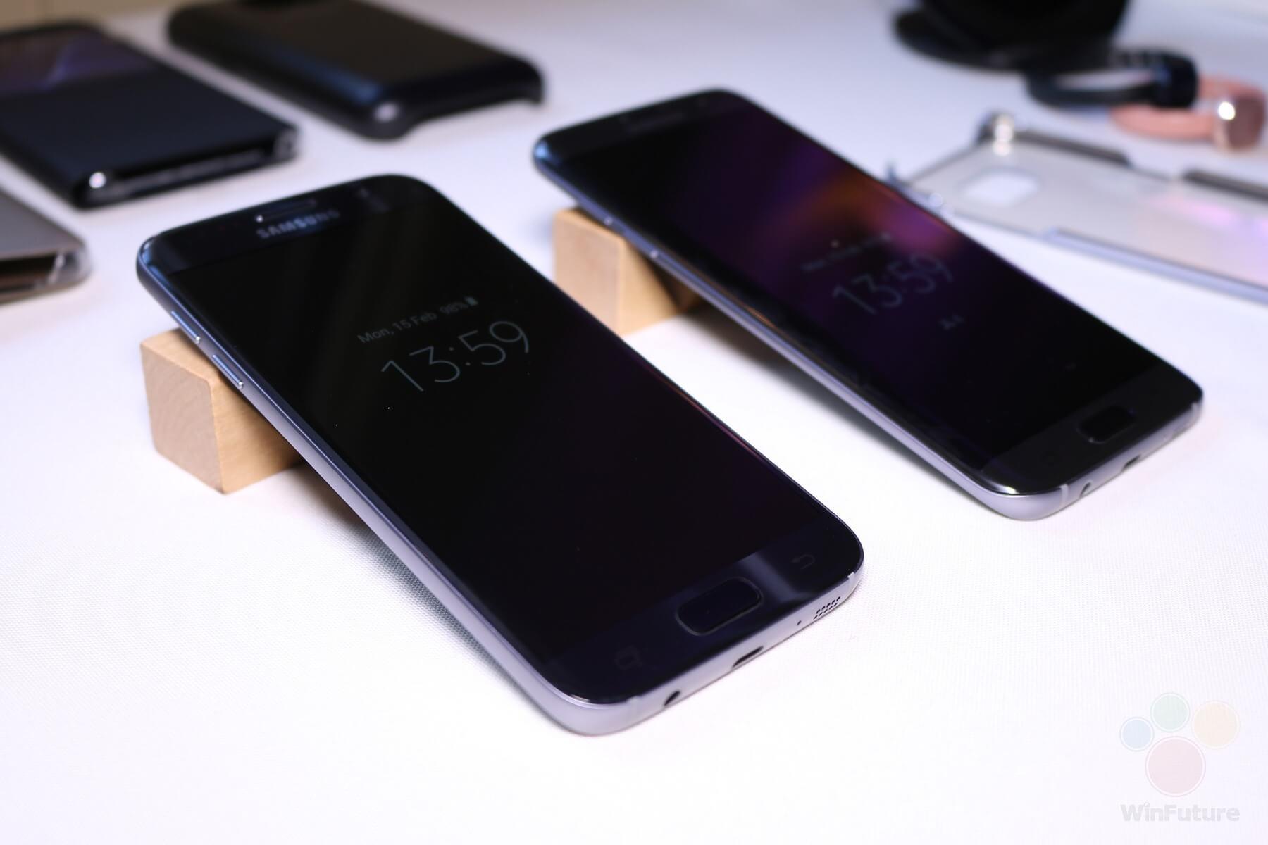 Samsung Galaxy S7 im Hands