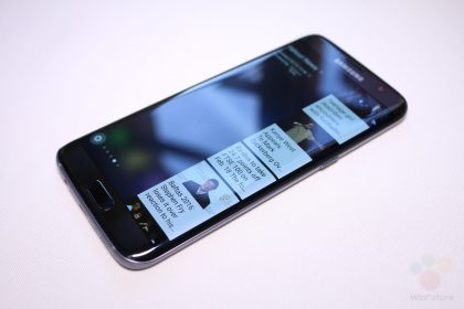Samsung Galaxy S7 Edge im Hands-On