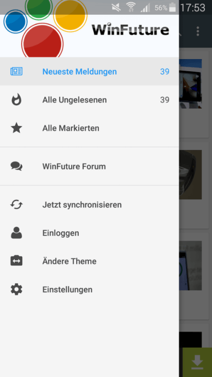 WinFuture.de - Android-App