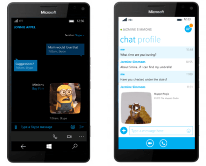 Mojis Skype Windows Phone und Windows 10 Mobile
