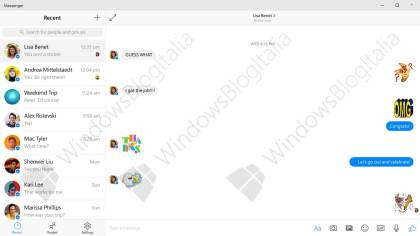 Facebook Messenger f�r Windows 10