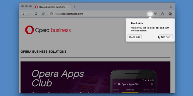 Opera Ad-Blocker