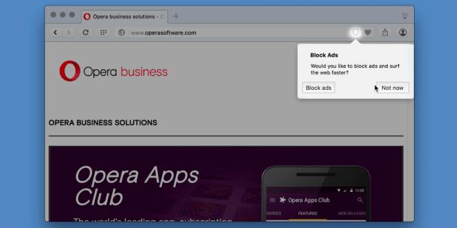 Opera Ad-Blocker