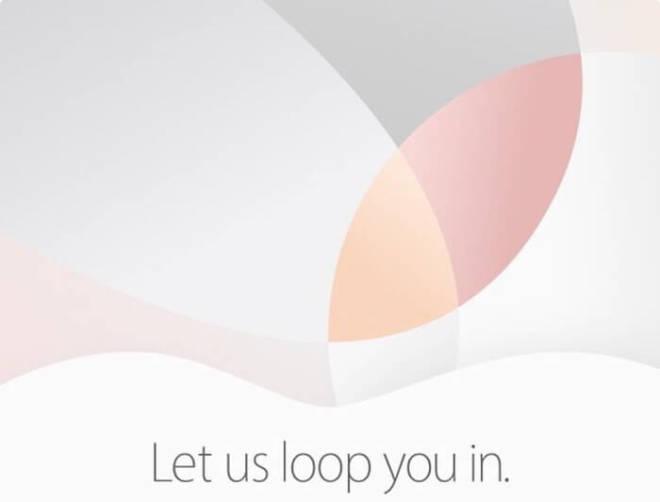 Apple Event März 2016