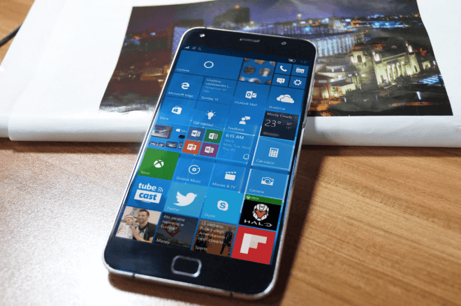 UMi Touch mit Windows 10 Mobile