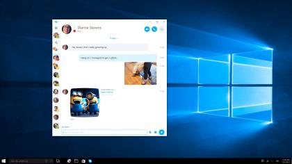 Skype Universal Windows Platform App