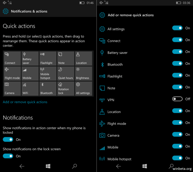 Windows 10 Redstone: Card UI