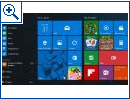 "Windows 10 ""Redstone"" Startmenü-Konzept"