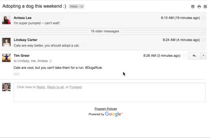 Misslungener Gmail-Aprilscherz