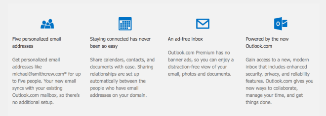 Outlook.com Premium