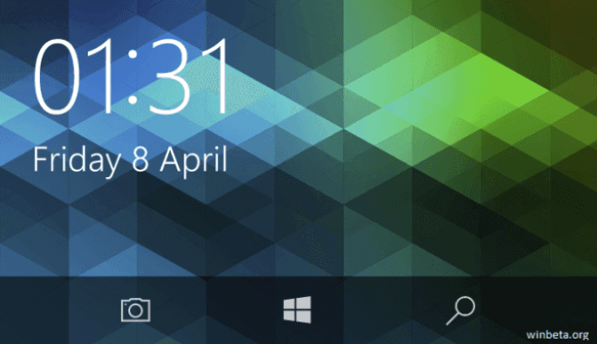Windows 10 Mobile: Kamera-Button