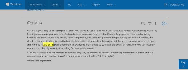Windows Roadmap Juli