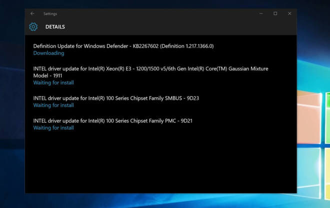 Surface Pro 4 Treiber-Update