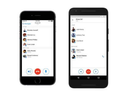 Telefonkonferenzen mit dem Facebook-Messenger