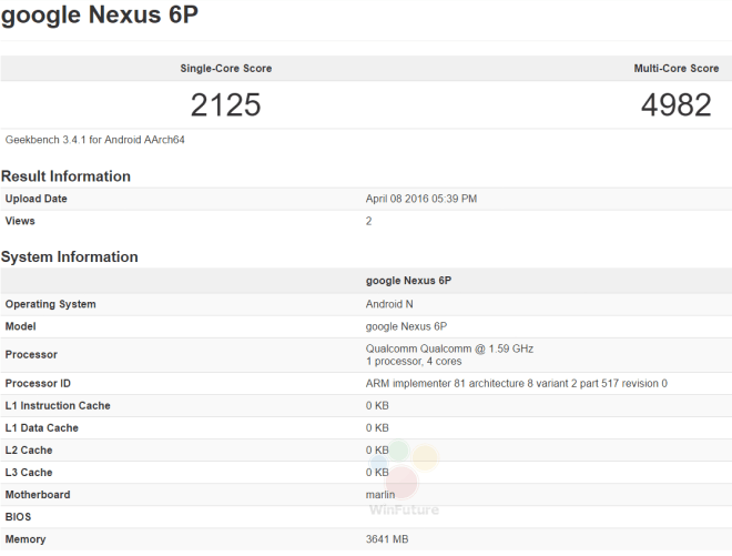 "Google Nexus ""Marlin"""