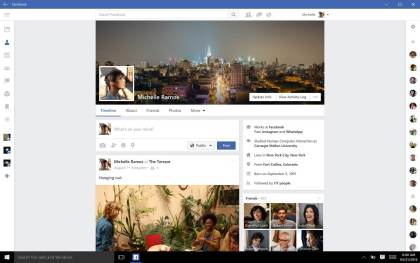 Facebook, Facebook Messenger & Instagram für Windows 10