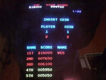 Donkey Kong: All-Time-Highscore