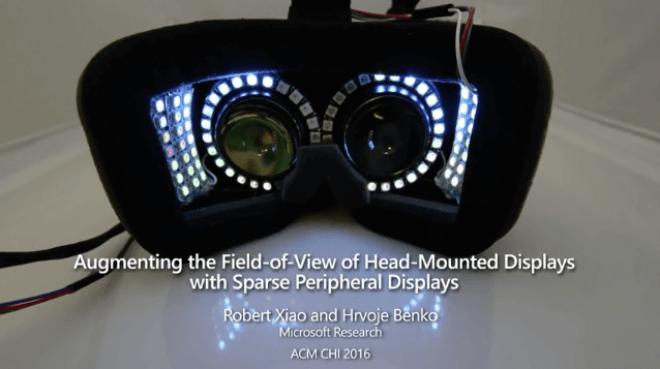 Microsoft SparseLightVR und SparseLightAR