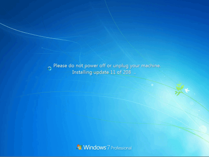 Windows 7 SP1 Convenience Rollup