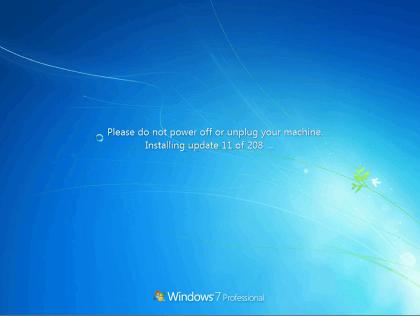 Windows 7 SP1 Convenience Rollup