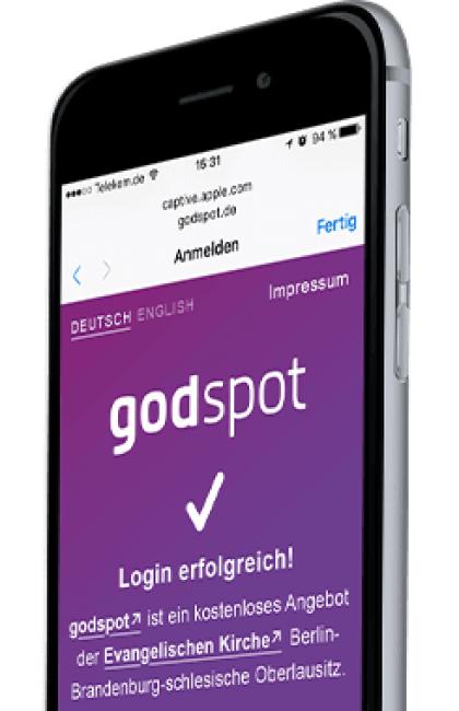 """""""godspot"""" – Kirche wird zum WLAN-Hotspot"""