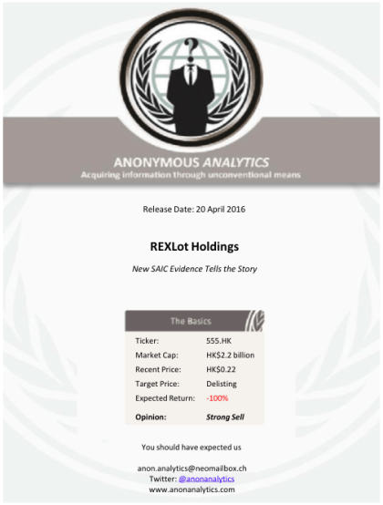 Anonymous Analytics