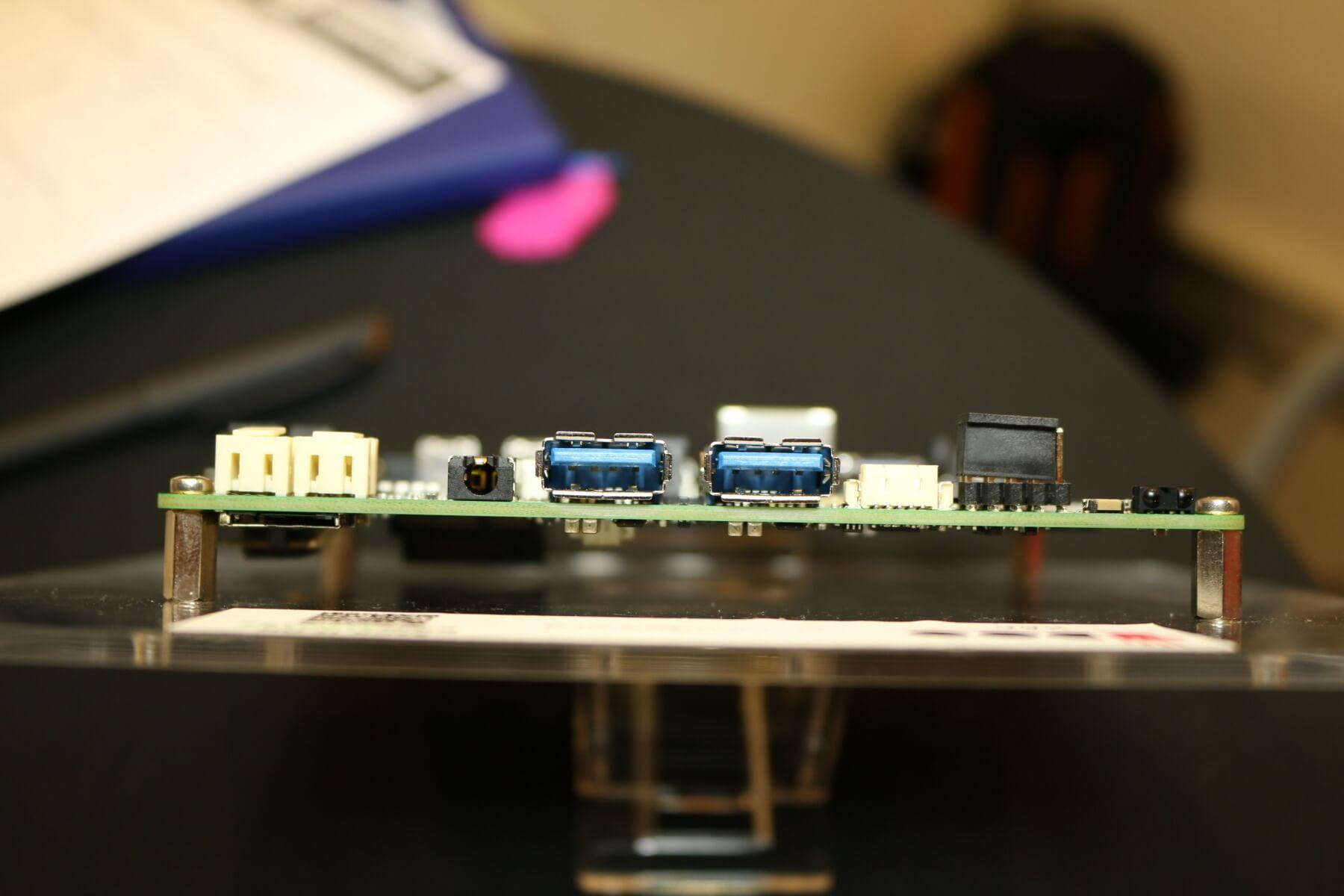 Udoo x86: Sehr leistungsstarkes Bastler-Board mit Intel-CPUs