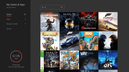 Xbox One: Dashboard-Update Sommer 2016