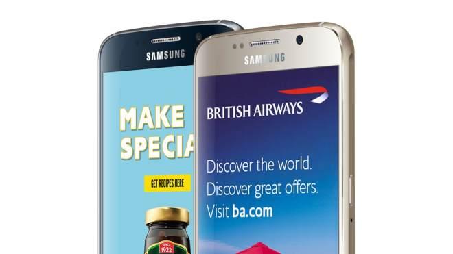 Tesco Mobile Xtras Lockscreen Werbung