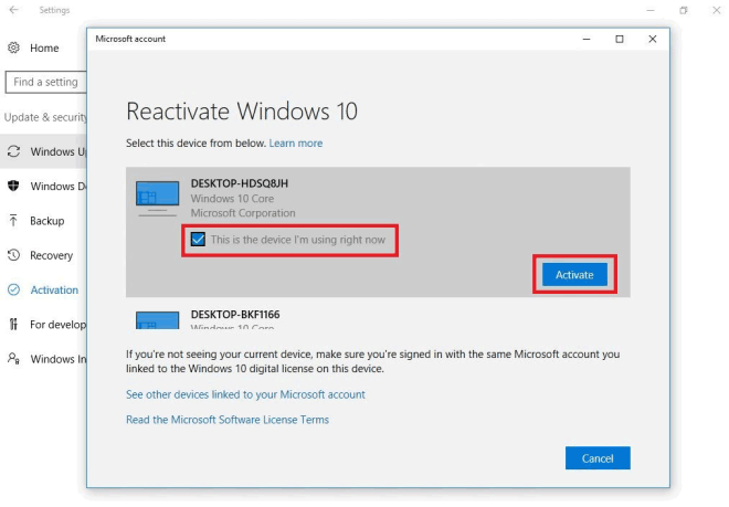 Windows 10 Activation Troubleshooting