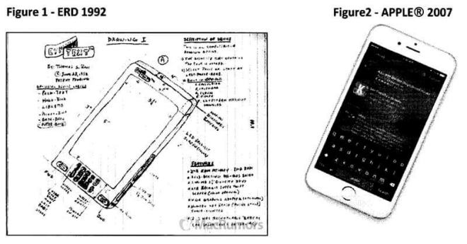 Thomas S. Ross iPhone-Patent