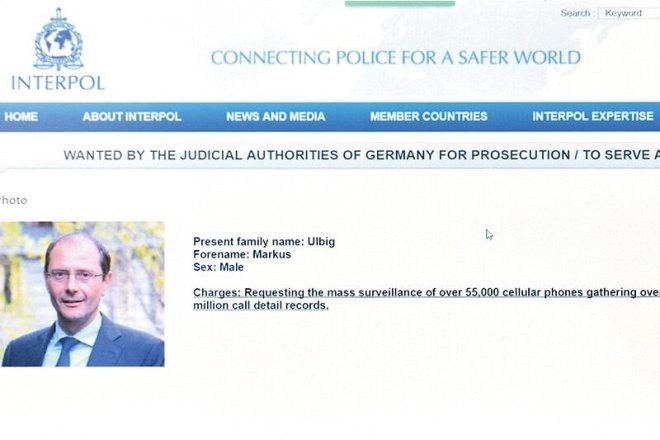 Markus Ulbig bei Interpol