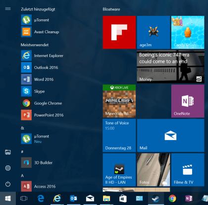 Windows 10 Anniversary Update: Die zehn wichtigsten Änderungen