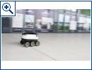 Starship-Roboter im Hermes-Dienst