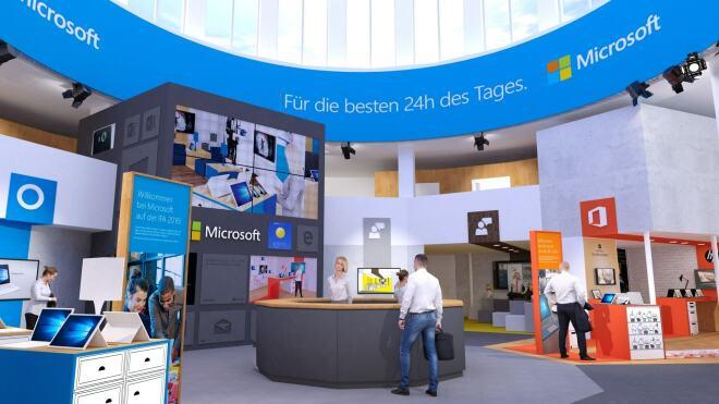 Microsoft auf der IFA 2016