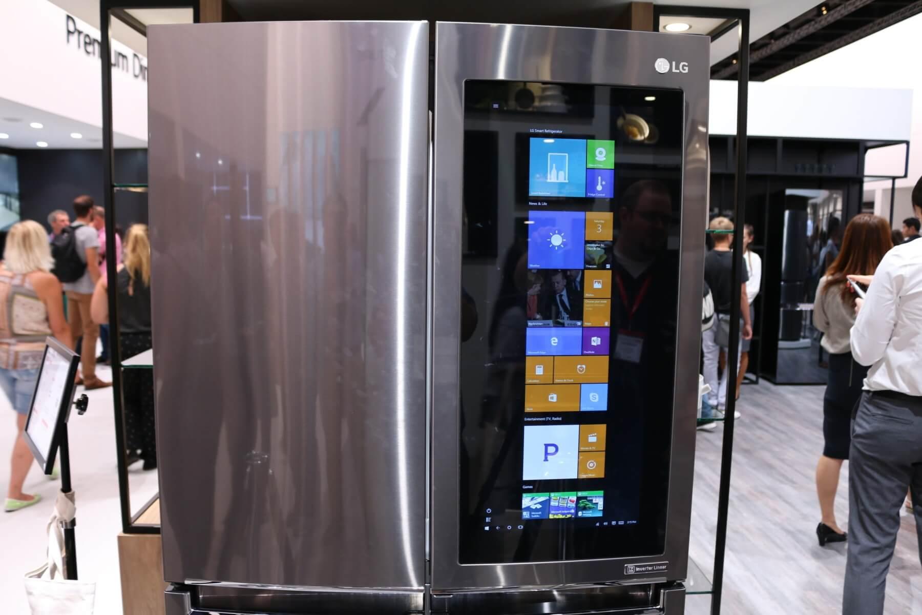 Kühlschrank Lg : Lg ifa highlights windows kühlschrank im hands on
