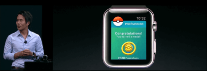 Pokemon GO für die Apple Watch